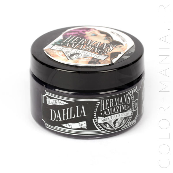 Coloration Cheveux Noir Black Dahlia - Herman's Amazing | Color-Mania
