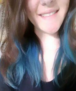 Merci Diane :) Coloration Cheveux Bleu Marge Blue - Herman's Amazing | Color-Mania