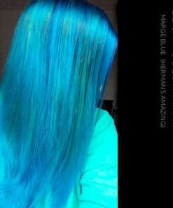 Merci Elisa :) Coloration Cheveux Bleu Marge Blue - Herman's Amazing | Color-Mania