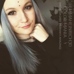 Gracias Emma :) Gray Hair Coloring Granny Mathilda Gray - Herman's Amazing | Color-Mania