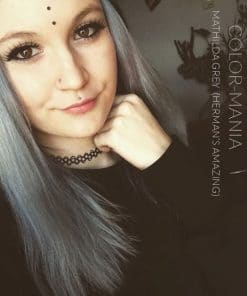 Merci Emma :) Coloration Cheveux Gris Granny Mathilda Grey - Herman's Amazing | Color-Mania