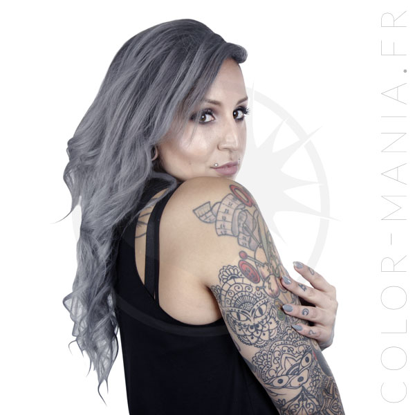 Coloration Cheveux Gris Gilda Granny Grey - Herman's Amazing | Color-Mania