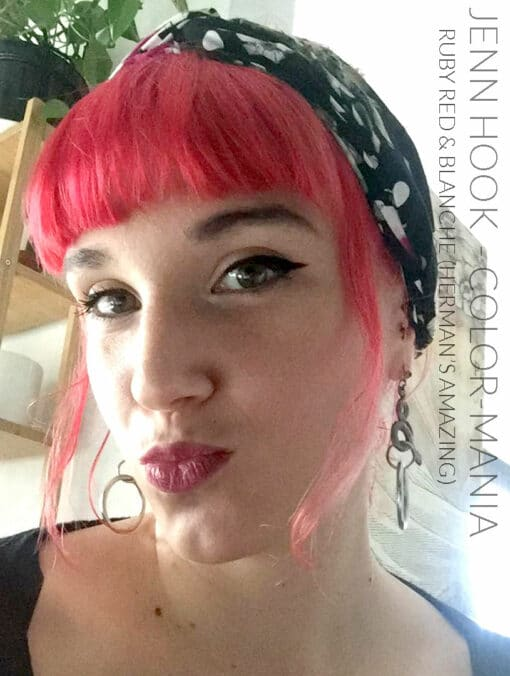 Merci Jenn Hook :) Coloration Cheveux Rouge Ruby Red - Herman's Amazing   Color-Mania