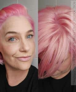 Merci Justine :) Coloration Cheveux Rose Pastel Polly Pink UV - Herman's Amazing | Color-Mania