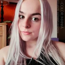 Gracias Leah :) Color de pelo blanco Veronica White - Herman's Amazing | Color-Mania