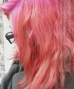 Gracias Lola :) Pink Hair Coloration Rosie Gold - Herman's Amazing | Color-Mania