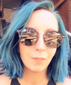 Merci Manon :) Coloration Cheveux Bleu Marge Blue - Herman's Amazing | Color-Mania