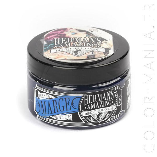 Coloration Cheveux Bleu Marge Blue - Herman's Amazing | Color-Mania