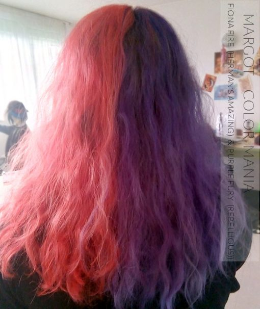 Merci Margot :) Coloration Cheveux Violet Purple Fury - Rebellious | Color-Mania
