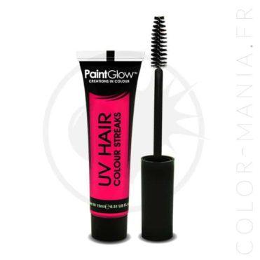 Mascara Cheveux Rose UV   Color-Mania