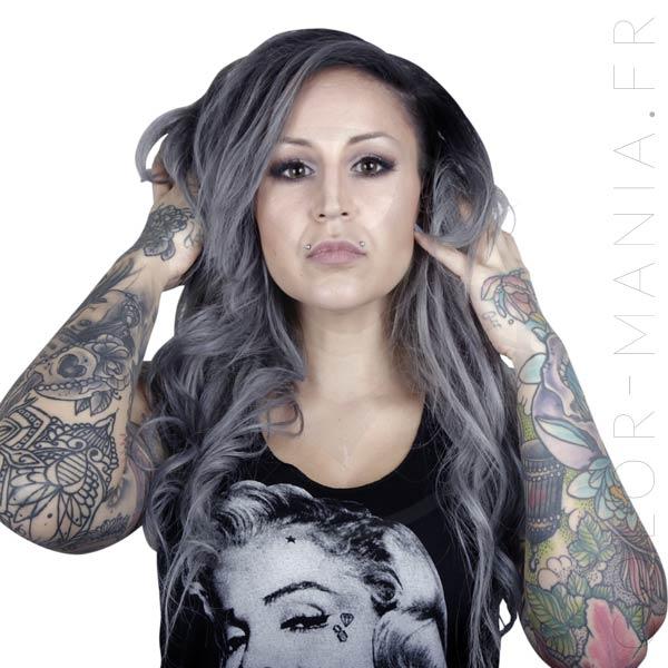 Coloration Cheveux Gris Granny Mathilda Grey - Herman's Amazing   Color-Mania