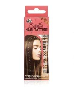 Tattoos Temporaires Métallisés pour Cheveux | Color-Mania