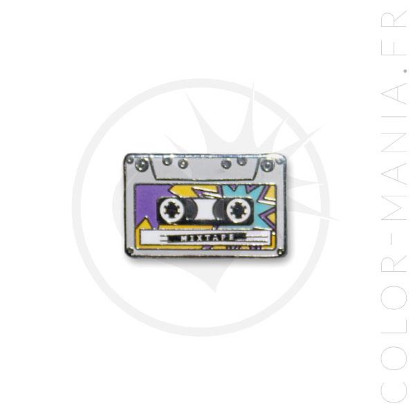 Pin's Cassette Audio Mixtape | Color-Mania