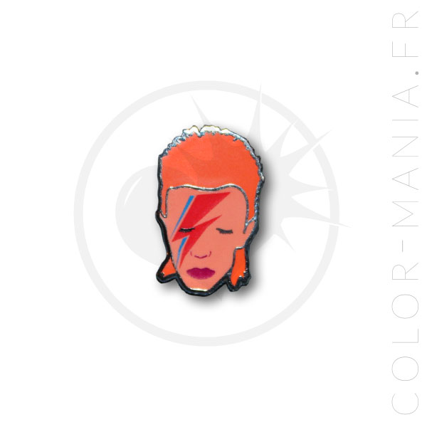 Pin's David Bowie | Color-Mania