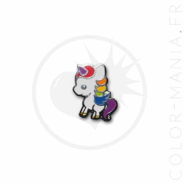 Little White Unicorn Pin | Color-Mania