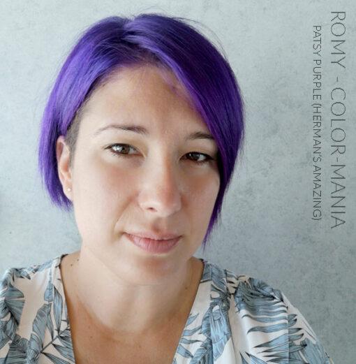 Merci Romy :) Coloration Cheveux Violet Patsy Purple - Herman's Amazing | Color-Mania
