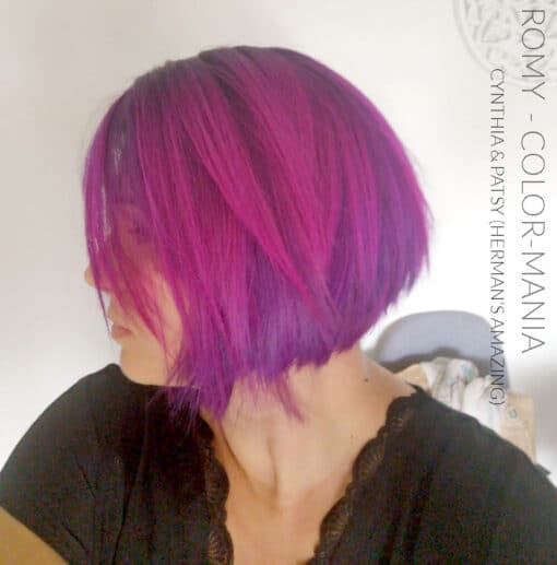 Merci Romy :) Coloration Cheveux Rose Cynthia Cyclamen - Herman's Amazing | Color-Mania