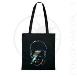 La bolsa de asas holográfica de David Bowie | Color-Mania