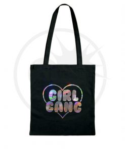 Sac Tote Bag Girl Gang Holographique | Color-Mania
