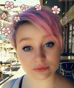 Danke Akira :) Graue Haarfarbe Oma Mathilda Grey - Herman's Amazing | Farblich Mania