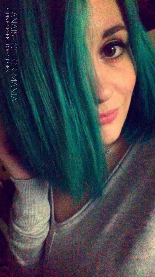 Gracias Anaïs :) Alpine Green Hair Coloring - Direcciones