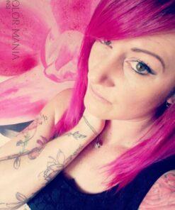 Merci Aude :) Coloration Cheveux Rose Cerise - Directions
