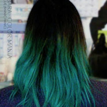 Merci Barbara :) Coloration Cheveux Bleu Voodoo Blue