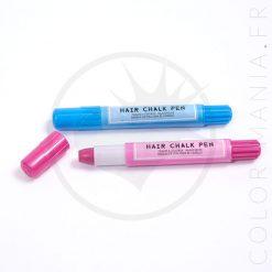 Stylos-Craies à Cheveux Rose et Bleu | Color-Mania