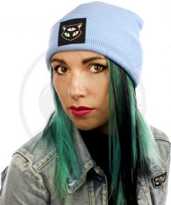 Beanie Blue Sky Cat 3 Occhi olografici | Color-Mania