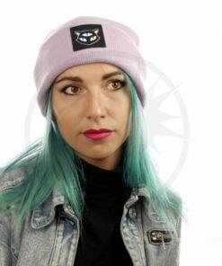 Sombrero de gato lila 3 Ojos holográficos | Color-Mania