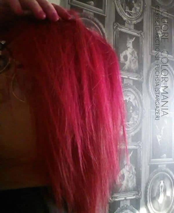 Gracias Cuore :) Hair Coloring Fuchsia - Stargazer and Cherry - Indicaciones