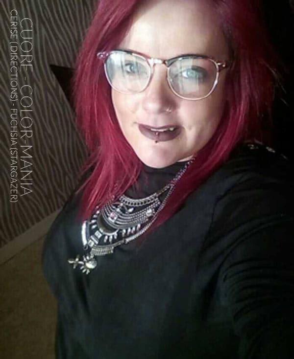 coloration cheveux fuchsia stargazer color mania. Black Bedroom Furniture Sets. Home Design Ideas