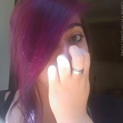 Merci Johanna :) Coloration Cheveux Rose Cerise + Violet Prune - Directions
