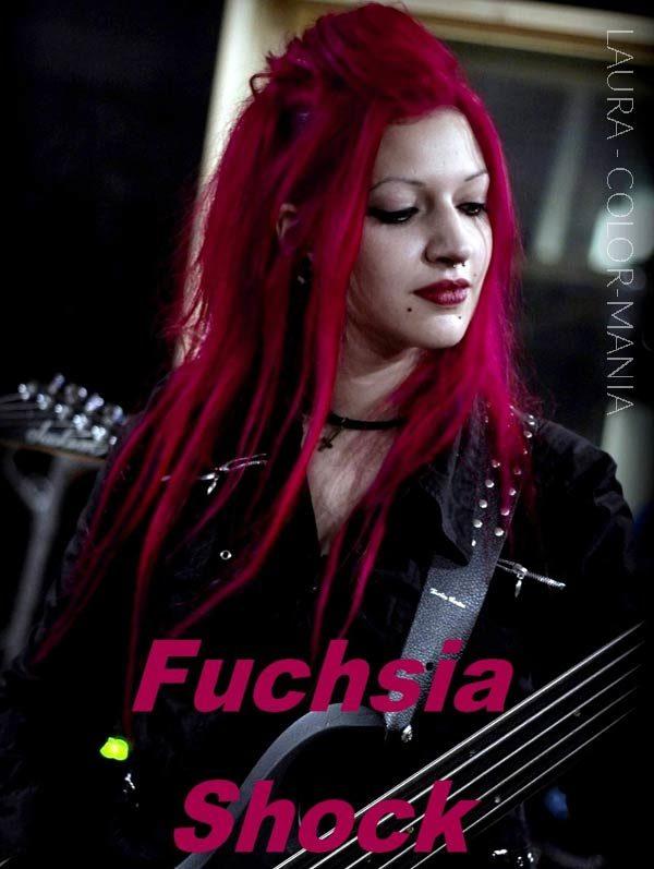 Merci Laura :) Coloration Cheveux Rose Fuchsia Shock - Manic Panic