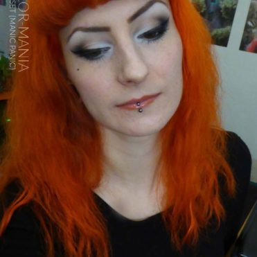 Merci Lily :) Coloration Cheveux Orange Psychedelic Sunset - Manic Panic