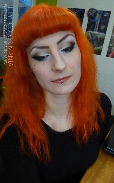 Merci Lily :) Coloration Cheveux Orange Psychedelic Sunset - Manic Panic