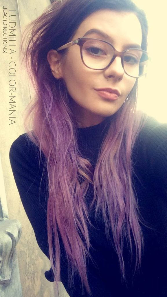 Gracias Ludmilla :) Lilac Hair Coloring - Directions