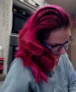 Merci Madylouna :) Coloration Cheveux Rose Cerise - Directions