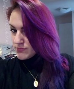 Gracias Madylouna :) Color de cabello restante Pink Cherry + Purple - Directions
