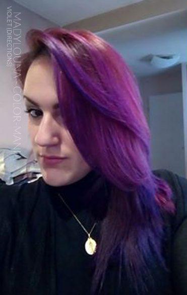 Gracias Madylouna :) Color de cabello restante Pink Cherry + Purple - Directions