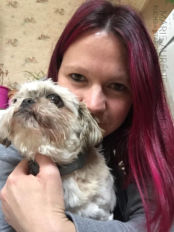 Gracias Marie-Aurélie (y Atchoum!) :) Hair Coloring Fuchsia - Stargazer