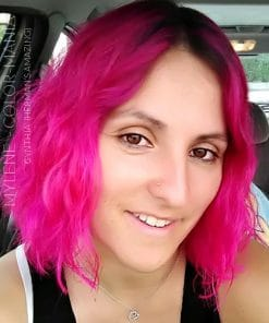 Grazie Cynthia :) Cynthia Cyclamen Hair Color Pink - Herman's Amazing | Color-Mania