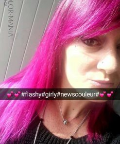 Merci Ode Pastels :) Coloration Cheveux Rose Cerise - Directions