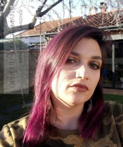 Grazie Ophélie :) Viola Patsy Purple Hair Coloring - Herman's Amazing - No Fading | Color-Mania
