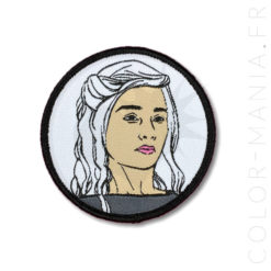 Patch Khaleesi Noir et Blanc | Color-Mania