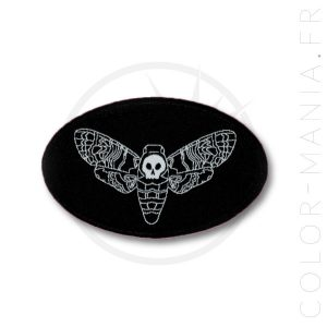 Patch Black Night Butterfly Sfinge Teschio | Color-Mania