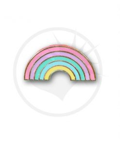 Arco iris Pastel Pin | Color-Mania