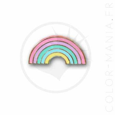 Pin's Arc-en-Ciel Pastel   Color-Mania