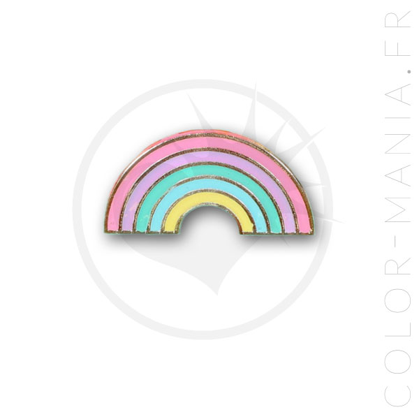 Pin's Arc-en-Ciel Pastel | Color-Mania