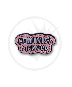 Pin's Feminist & Proud Rose Pastel | Color-Mania